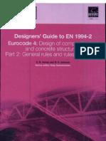 Designs Guide to en 1994-2, Eurocode 4