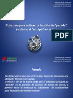 3Guia Para Activar _parada_ en Un Aviso