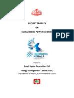Small Hydro Power Schemes Kerala
