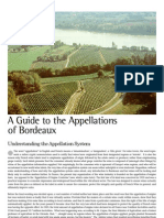 A Guide to the Appellations of Bordeaux