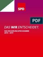 Regierung s Programm 2013
