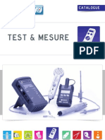Test Et Mesure
