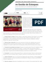 11 dicas sobre Gestão de Estoques - Artigos - Administração e Negócios - Administradores