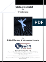Kyrion Ethical Hacking Workshop Handouts