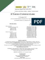 II TORNEO COPERNICOLIBRI