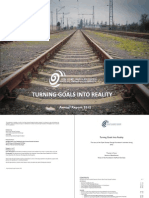Turning Goals into Reality- OSGF Annual Report 2012