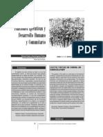 Funciones Ejecutivas y Desarrollo Comunitario
