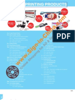 Inkjet Printing Products