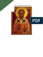 Acathiste a St Nicolas