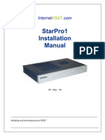 Installing and Commissioning Star Pro Satellite Modem