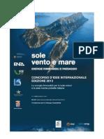 Sole Vento e Mare 2013 - Concorso d'idee internazionale