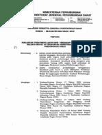 Sk.4320 Tahun 2010 Treatment Akuntansi Belanja Modal Hubdat