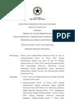 Pembagian Wewenang Pusat - Daerah Pp.38 Tahun 2007