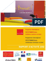 Rapport d'activité 2012 du CIRDÒC