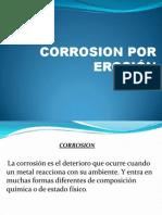 Corrosion Por Erosion