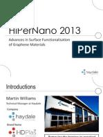 HiPerNano 2013 Martin Williams