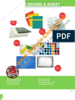 plastic board and sheets
