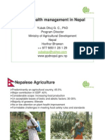 Plantwise Nepal, the NPPO experience