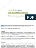 Global Datacenter Locations Talent Neuron