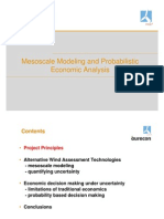 Probabilistic Economic Analysis Wind EnergyKenHumphreyBlairWalter
