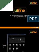 Gprs Configuration for Laptop Pc Through Lg Pc Suite