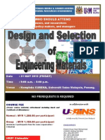 Design and Selection of Engineering Materials May 2013