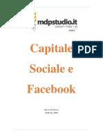 Capitale Sociale e Facebook