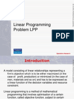 3. Linear Programming- Formulation