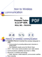 Introduction to Wireless Communication.Radio Communication.ppt