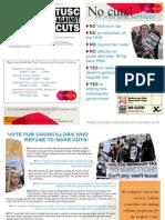 Leaflet 2 - NCC Elections 2013 - Karen Seymour