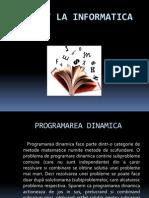 Programarea dinamica