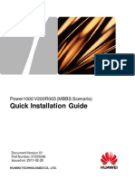 31505046-Power1000 (MBBS Scenario) Quick Installation Guide (V200R003_01)