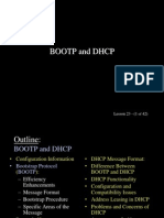 bootp dhcp