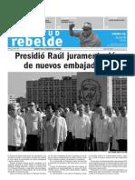 Juventud Rebelde 9 de Agosto 2009