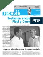 Juventud Rebelde 24 de Agosto 2009