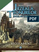 A Game of Thrones Urzeala Tronurilor 2 Regulament de Joc Romana