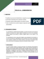 INFORME Nº1 - CARBOHIDRATOS