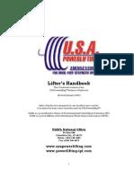 USAPL Handbook