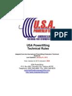 USAPL Rulebook-2013 1