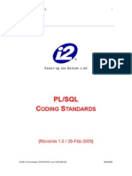 i2 PLSQL Coding Standards