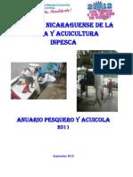 Anuario Pesquero y Acuicola de Nicaragua 2011