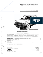 RR Classic 87-91 Workshop Manual Part SRR652USWMA
