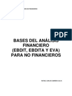 Bases Analisis Financiero Ebdit Ebdita Eva Para No Financiaroes