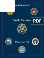 Joint Pub 3-07 Stability Operations, 2011, uploaded by Richard J. Campbell