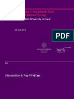 Media Use in the Middle East:An Eight-Nation Survey - NU-Q