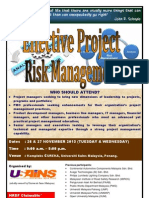 Effective Project Risk Management Novembe 2013