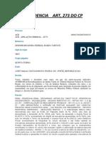 Jurisprudencia Art 273 Cp