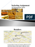 Retail Marketing Assignment