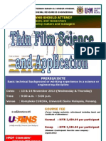 Thin Film and Application November 2013