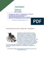 Consideraciones BiomecánicasSILLA DE RUEDAS